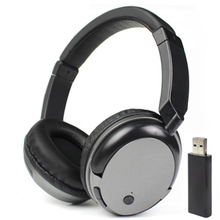 Wholesale New TV Rechargeable Multifunction 2.4G Wireless Headset TV Headphones with Microphone for TV PC iPad Phones MP3 Gifts