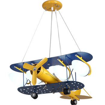 Cartoon LED Pendant Airplane Hang Lamp Best Children's Lighting & Home Decor Online Store