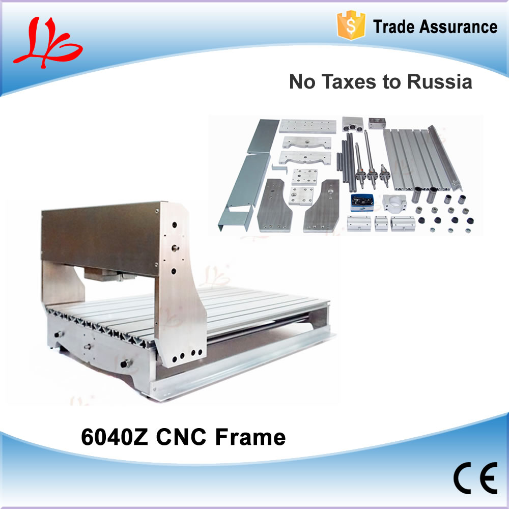 Russia Ukraine NO TAX. Customized CNC 6040 engraving machine frame Ball Screw, CNC 6040Z drilling / milling machine frame cnc 6040z diy cnc frame lathe kit of milling engraving machine with ball screw free tax to eu