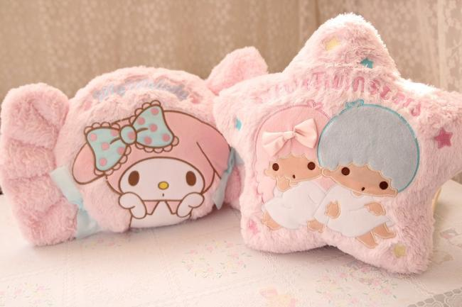 Plush doll 1pc 47cm lovely cartoon my melody candy star ice cream home decoration pillow stuffed toy creative gift for baby