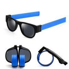 OUTERDO Divertido MTB Bike Gafas Polarizadas UV400 Unisex Pulsera Plegado Gafas Ciclismo Gafas de Sol