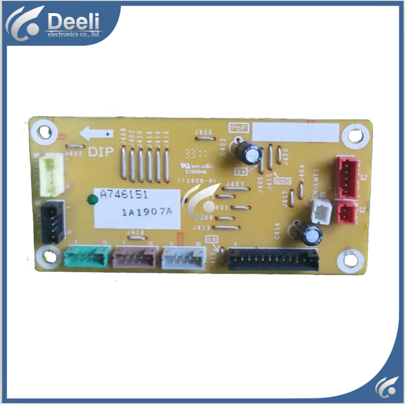 95% new good working for Panasonic Air conditioning display board remote control receiver board plate A746151 cs3310 remote preamplifier board with vfd display 4 way input hifi preamp remote control digital volume control board