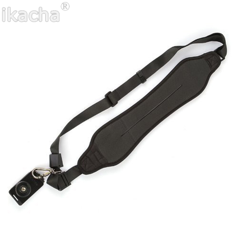 5pcs Quick Rapid Camera Single Shoulder Black Sling Strap For Canon Nikon Sony Pentax DSLR Camera