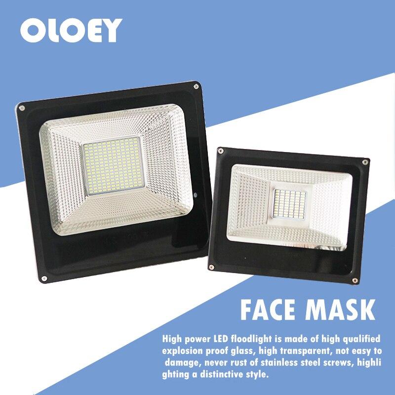 LED Spotlight Outdoor Lighting Projector Reflector Wall Lamp 220V Flood Light