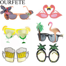 Hawaii party Pink Flamingo Glasses Novelty Birthday Flamingos Sunglasses Girl Night Out Bachelorette Event Hen Party Supplies