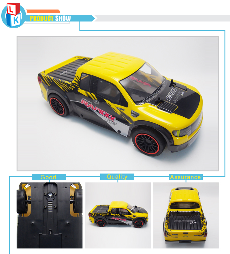 Profession High Speed RC Rracing Car 4 Channels 1 10 Remote Control Car Truck Electric Climbing Wltoys carro de controle remoto in RC Cars from Toys Hobbies