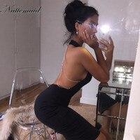 2016 Summer Women Sexy Blackless Dresses Deep U Neck Long Dress 3 Clolor Large Size Whosale