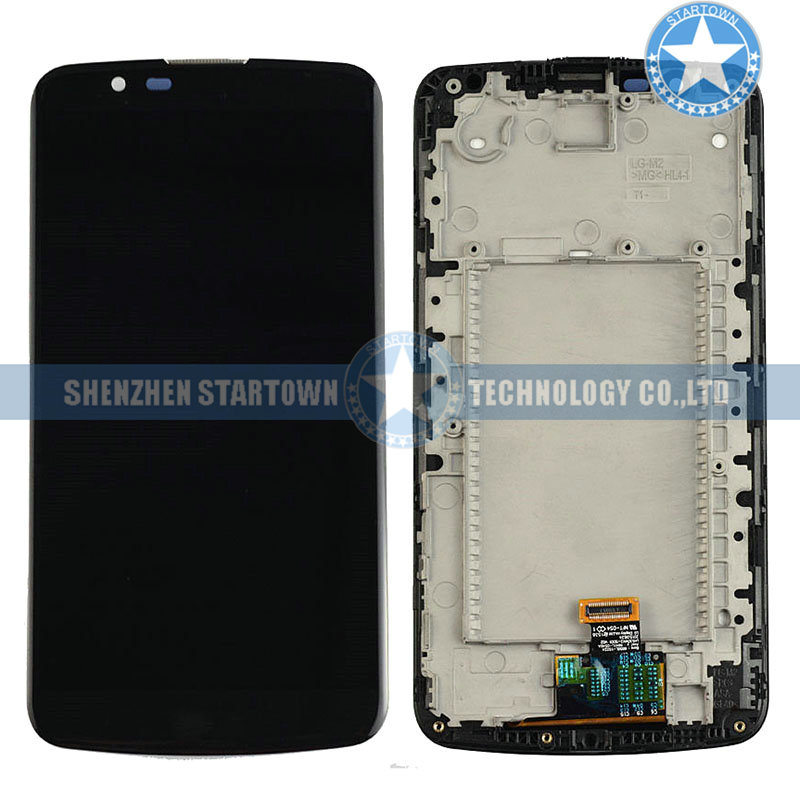 New 5.3 Black For LG K10 LTE K430DS K410 K420n Touch Screen Digitizer Lcd Display Assembly+Frame ReplacementNew 5.3 Black For LG K10 LTE K430DS K410 K420n Touch Screen Digitizer Lcd Display Assembly+Frame Replacement