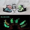 Cordones zapatos 100 см люминесцентные шнурки Телевизор С Световой Кроссовки Lace Glow Шнурки Ботинок Тренер Обувь DDSLA10241