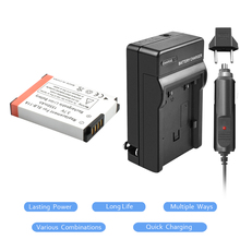 3.7V 1550mAh Li-ion SLB-11A Battery+Battery charger+Car charger ForSamsung WB1000 WB5000 CL65 CL80 HZ25W ST1000 ST5000 L20 digital battery charger for samsung slb 10a 11a black