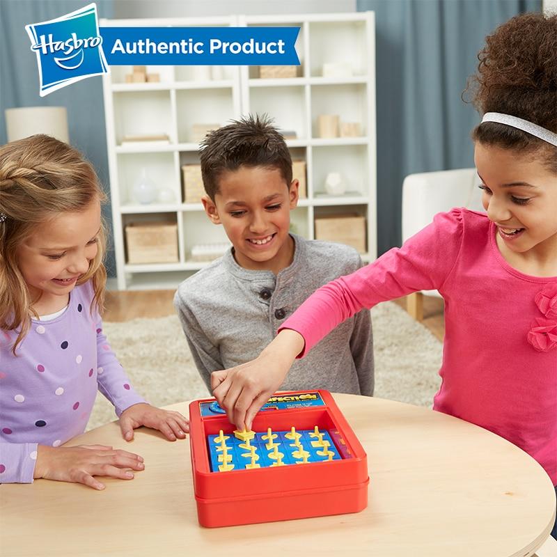 Hasbro Perfection jeu famille nuit plaisir jeu Hippos faim Trivial poursuite piège à souris ne pas briser la glace devinez qui enfants enfant - 4