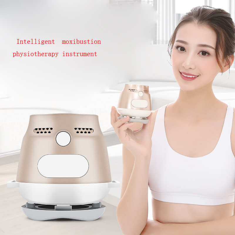 Intelligent temperature control moxibustion instrument electric smokeless mute moxibustion box home health warm palace