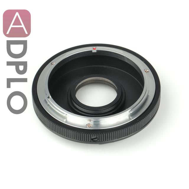 Pixco emf af confirmar adaptador óptico de apertura ajustable juego para canon fd lentes para cámara canon ef (non-af)