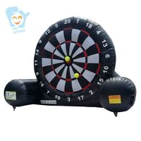 Giant Inflatable Outdoor Game 5mx 6m Inflatable Foot Darts Board Golf Dart Boards