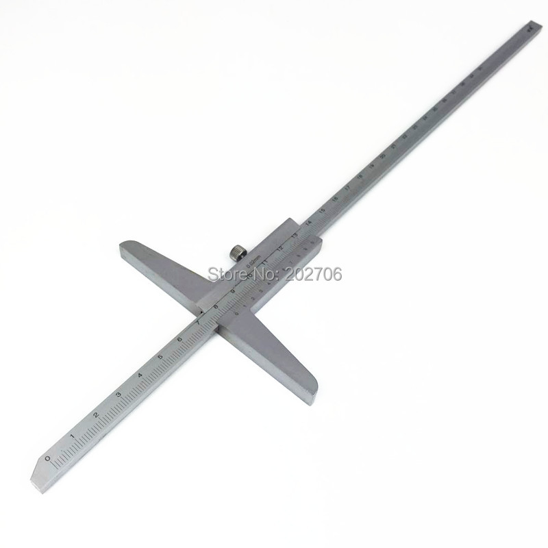 0-300mm 12inch matel steel depth vernier caliper depth caliper depth gauge depth measuring gauge 0-300mm