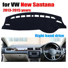 Car dashboard covers for Volkswagen VW New SANTANA 2013-2015 Right hand drive dashmat pad dash cover dashboard accessories