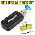 USB Bluetooth Музыка Аудио Приемник Адаптер 3.5 мм Стерео Аудио в спикер Звуковой Ящик для ПК Ноутбук LG Samsung S3 S4 S5
