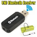 USB Bluetooth Music Audio Receiver Adapter 3.5mm Stereo Audio to Speaker Sound Box for PC Laptop LG Samsung S3 S4 S5