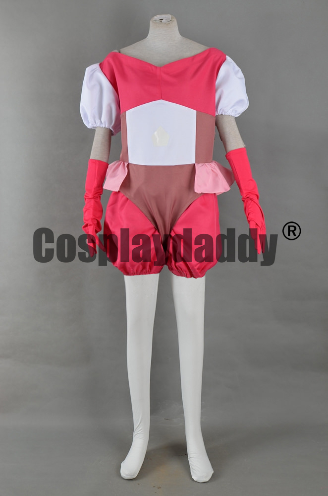 Steven Universe the Great Diamond Authority Homeworld Gem Pink Diamond Outfit Cosplay Costume F006