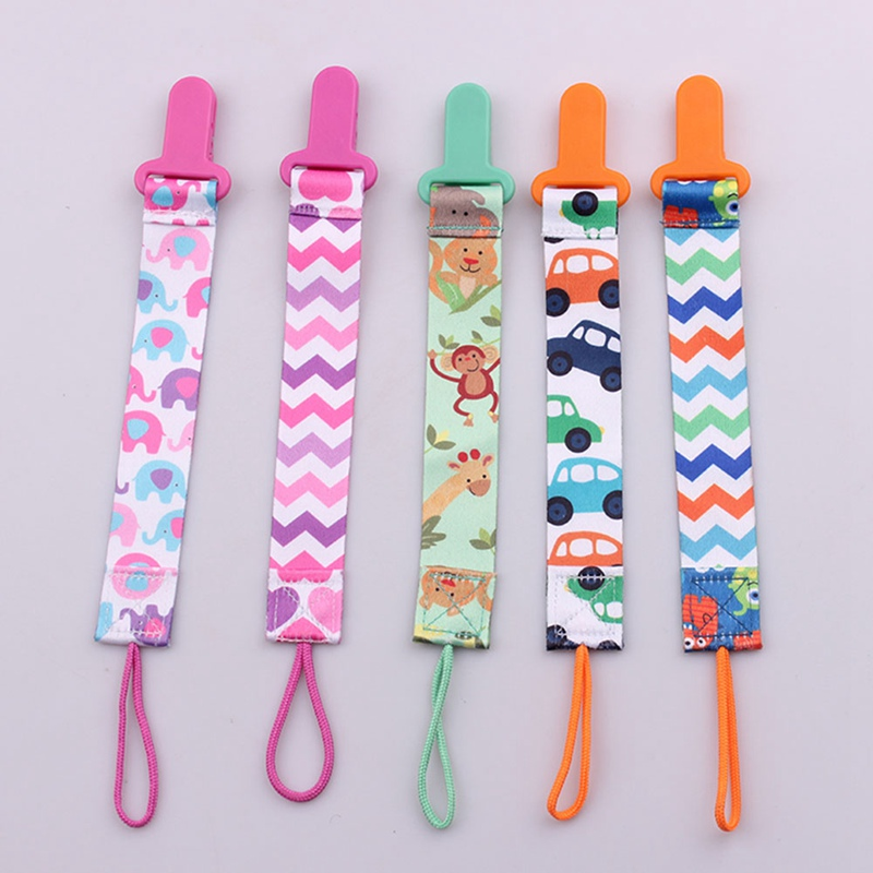 3pcs New Baby Pacifier Clip Pacifier Chain Dummy Clip Nipple Holder For Nipples Children Pacifier Clips Teether Anti-drop Rope