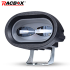 RACBOX 6D 20W LED Work Light Bar Car Driving Fog Spot Light Offroad LED Work Lamp Vehicle Truck SUV ATV Led Car Retrofit Styling