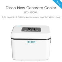 Dison Portable Fridge Medical Cryogenic Thermostatic Equipment cooler box Insulin Refrigerator LED Display Super capacity For 8h