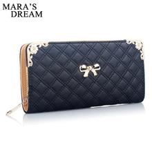 Mara's Dream, Модный женский кошелек, высокое качество, из искусственной кожи, Дамский кошелек, милый кошелек на молнии, женский роскошный бренд, повседневный кошелек, женский