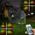 8 Padrões de Luz Laser À Prova D' Água IP65 Paisagem Ao Ar Livre Iluminação Decorativa Da Lâmpada Do Projetor Controle Remoto RF