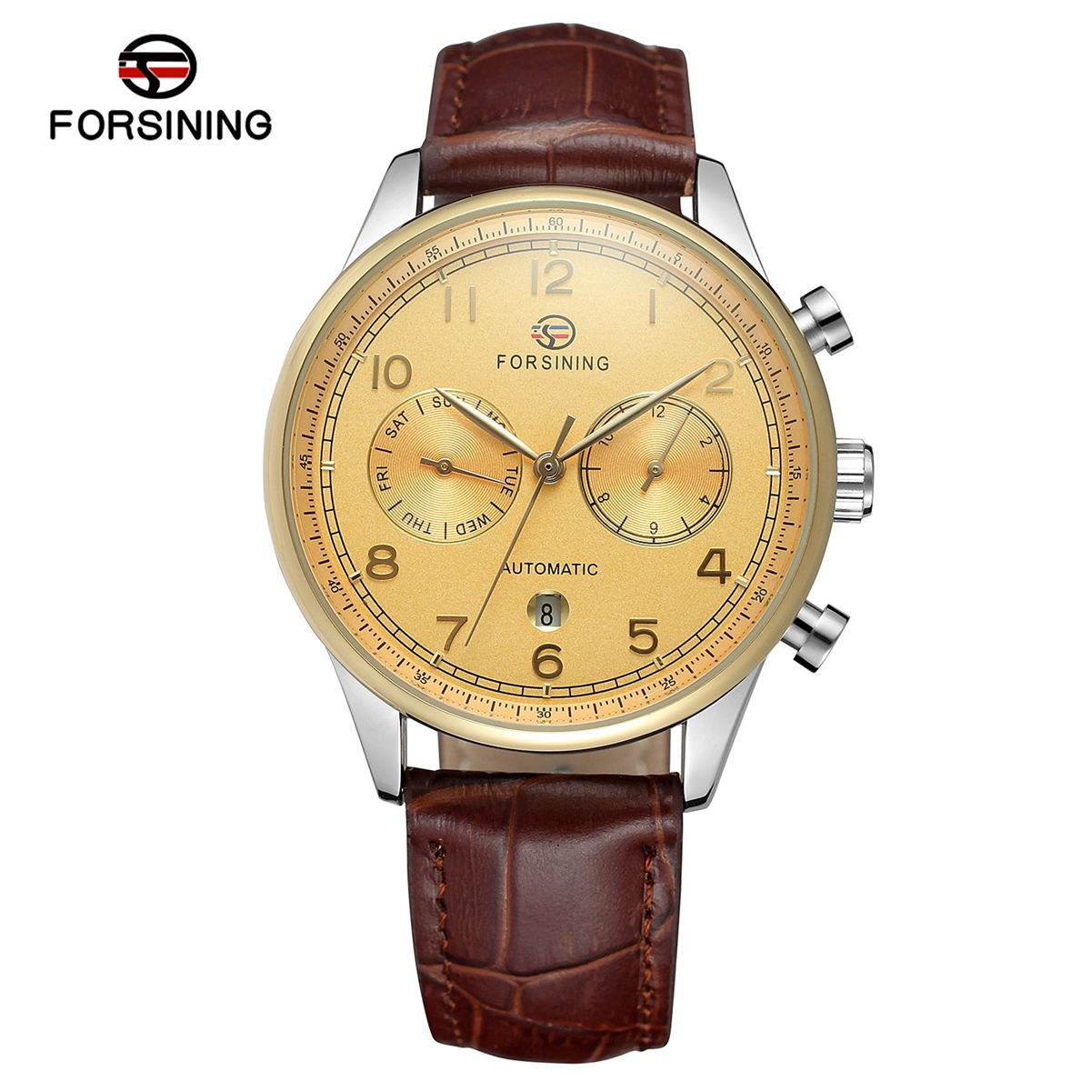 Forsining Automatic Mechanical Watches Men watch Relogio Automatico Masculino Waterproof Sport Business Wristwatch Male Clock forsining date display automatic mechanical watch men business leather band watches modern gift dress classic analog clock box