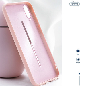 Image 4 - liquid silicone phone case for vivo v15 pro iqoo x23 silicone slim rubber protective phone case for Y93 X9s V15 x21 x27 23