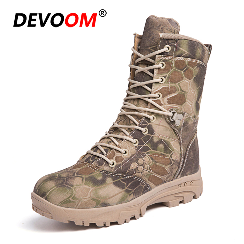 Uhren & Schmuck Fast Deliver 2018 Outdoor High Quality Hiking Shoes Mens Desert High To Help Military Tactical Boots Mountain War Boots Militares Hot Fashionable Patterns