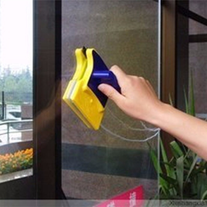 Useful Window Magnetic Brushes Window Cleaner Double Side Glass Wiper Household Glass Surface Cleaning Tools