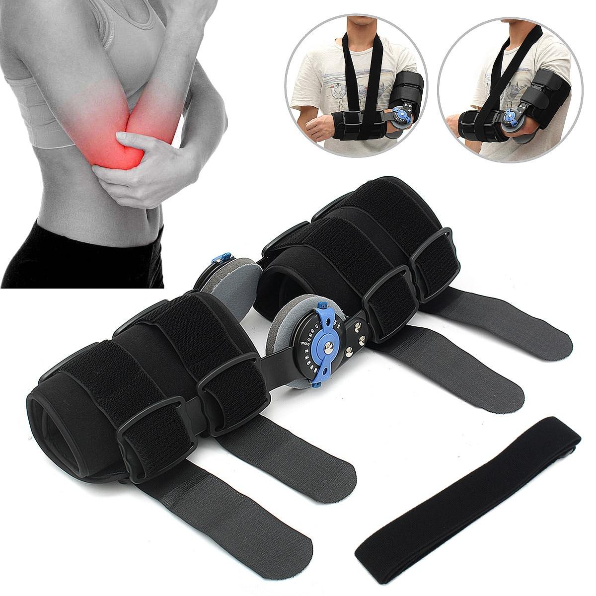 Adjustable Forearm Elbow Arm Sling Brace Support Shoulder Immobilizer With Strap Aluminum Cotton Adjust Fixed Fingers Wrist arm sling shoulder arm elbow brace sling joint support belt