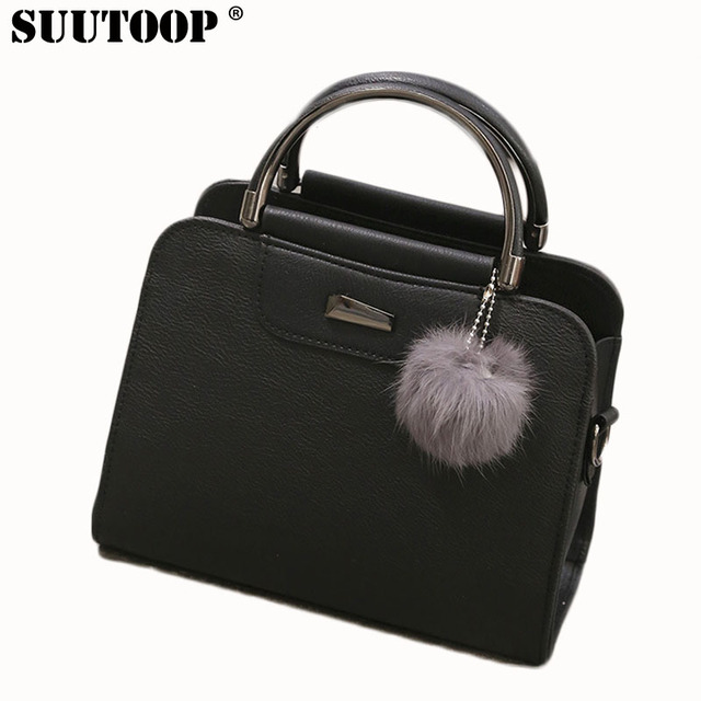 Suutoop Women Leather Tote Bag Fashion Designer Handbags High Quality Las Bags Vintage Crossbody