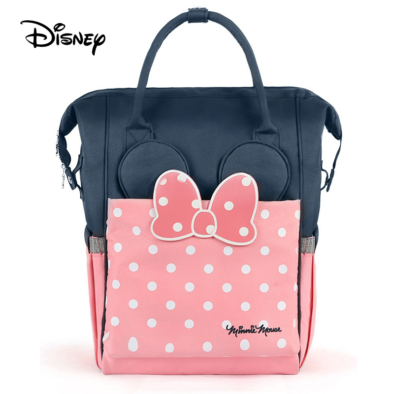 Disney diaper bag mickey baby bags for mom multifunctional large capacity insulation handbag backpack mummy bag nappy bag