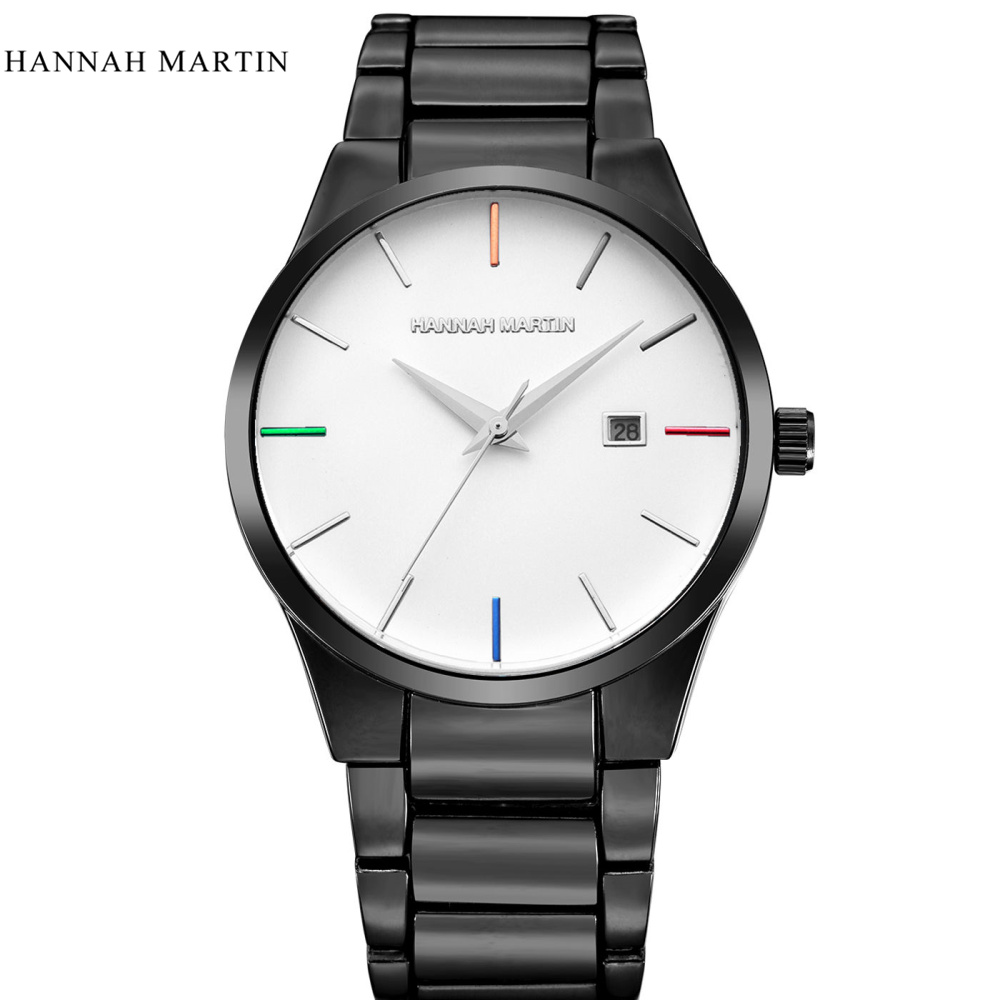 Hannah Martin Luxury Brand Analoge sport Polshorloge Display Datum - Herenhorloges - Foto 1