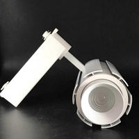 높은 컬러 렌더링 2 라인 LED 트랙 조명 줌 20