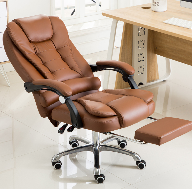 Phenomenal Us 99 0 Louis Luxury High Back Executive Faux Leather Office Chair Swivel Recliner And Footstool Computer Boss Chair Black In Living Room Chairs Alphanode Cool Chair Designs And Ideas Alphanodeonline