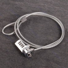 four Digit Safety Password Laptop Lock Anti-theft Chain For Pocket book PC Laptop computer #Okay400Y#