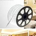 AC 220V 5050 LED 5M 10M 15M 20M  LED strip Waterproof  220V 60LEDs/M Strip Light + Power plug