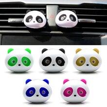 Panda perfume ambientador de ar para carro, colorido para ventilação de ar para ventilação acessórios