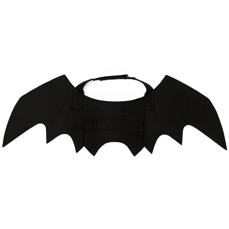 Hoomall 1pc Funny Cats Cosplay Costume Halloween Pet Bat Wings Cat Bat Costume Fit Party Dogs Cats Playing Pet Accessories #3