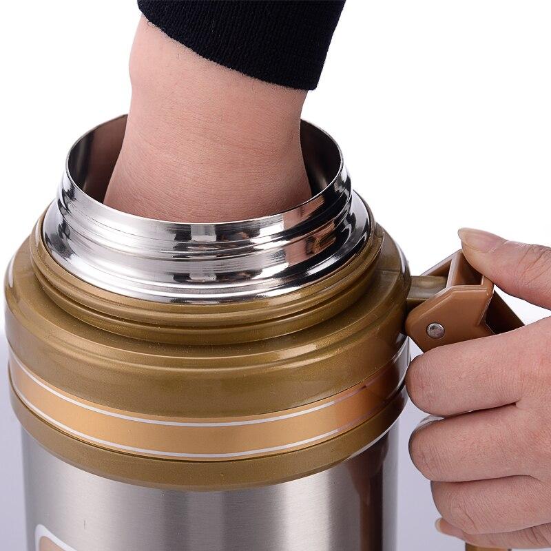 304 스테인레스 스틸 보온병 병 2.2l 보온병 여행 커피 머그잔 열 진공 물병 열 컵-에서진공 병& 보온병부터 홈 & 가든 의  그룹 1