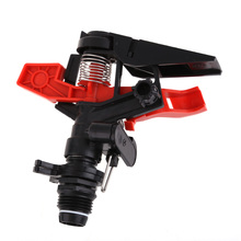 New Arrival Garden Lawn Plant Watering Plastic Impact Sprinkler Irrigation Kits Tool   FG