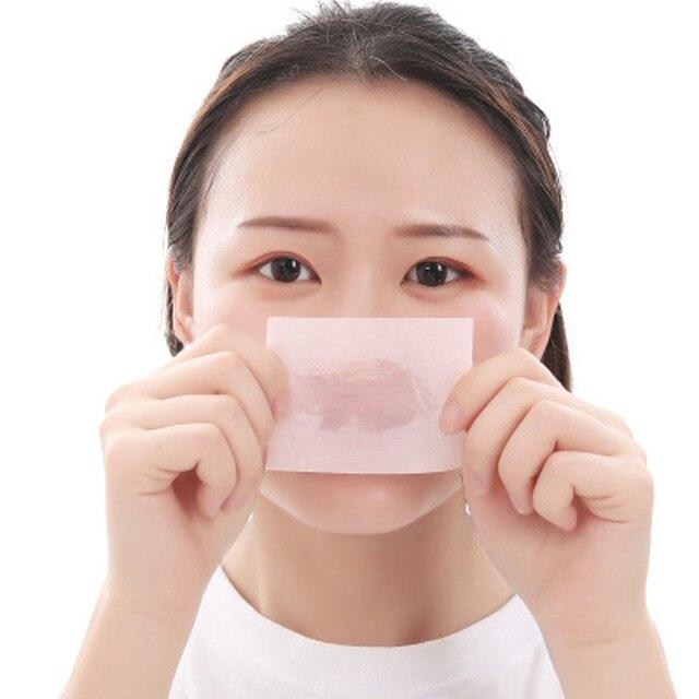 50Pcs Sheets/Pack Flamingo Makeup Facial Face Clean Oil Absorbing Blotting Papers Beauty Tools Pattern Random Facial Tissue 1