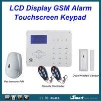 868 МГц ST-IIIB испанская французская система Alarme Беспроводная Проводная GSM PSTN автоматическая система с циферблатом Alarma с питометром иммунный и...