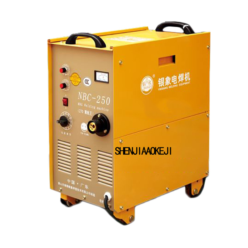 380V 1pc NBC 250 integrally welder carbon dioxide gas shielded welder vertical carbon dioxide gas shielded welding machine