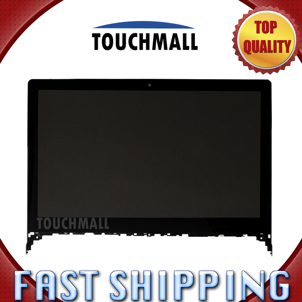 For Lenovo Flex 2-14 Flex 2 14 14D Replacement LCD Display Touch Screen with Frame Assembly 14-inch Black For Laptop lcd screen assembly for apple iphone 4 4g lcd display touch screen digitizer pantalla with frame bezel replacement black white