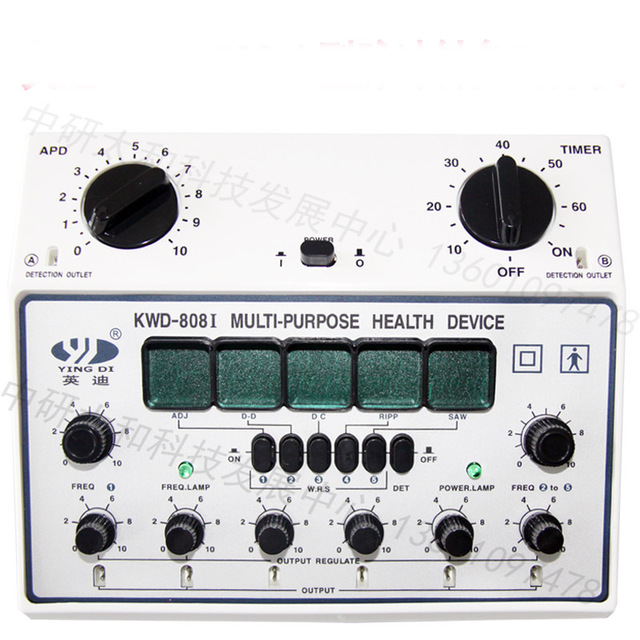 electro acupuncture device needle stimulator KWD 808 II 6 channel outputs Pain Relief Muscle Stimulator