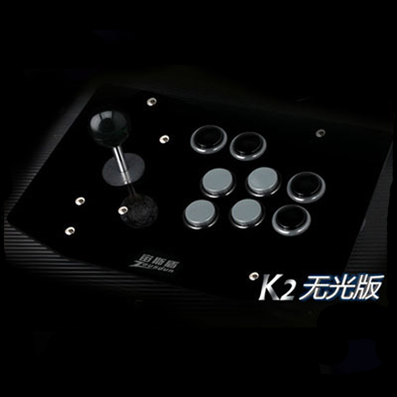 цена на black and grey buttons arcade joystick 8 buttons street fighters pc controller computer game Joystick Consoles